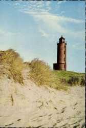 Dünen mit Leuchtturm