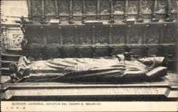 Estatua del Obispo d. Mauricio