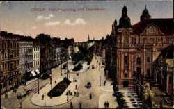 Habsburgerring mit Opernhaus