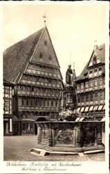 Marktplatz mit Knochhauer Amtshaus