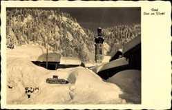 Dorf, Schnee