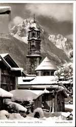 Wettersteinspitze, Schnee