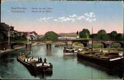 Saar, Brücke