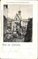 St. Anna Kapelle, Domherrn Friedhof