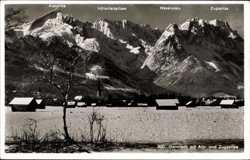 Alp und Zugspitze