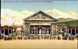 Bühne des Passionstheaters, Chor der Schutzgeister
