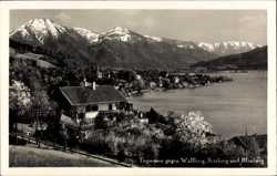 Blick zum Wallberg, Setzberg und Blauberg