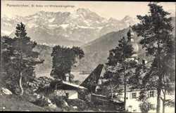St. Anton mit Wettersteingebirge