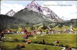 Panorama mit Wetterstein