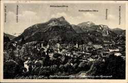 Müllnerhorn, Blick über den Ort