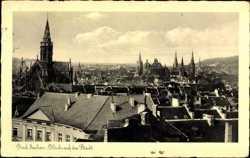 Blick auf Stadt