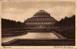 Stadthalle, Gartenfront