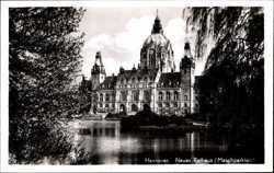 Neues Rathaus, Maschparkteich