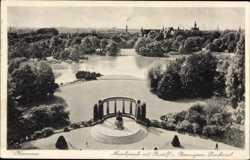 Maschpark, Rudolf Bennigsen Denkmal