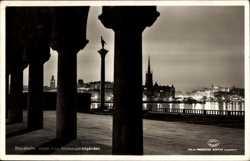 Utsikt fran Stadhusträdgarden