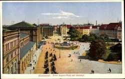 Ernst August Platz mit Bahnhof