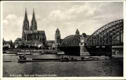 Dom, Hohenzollernbrücke