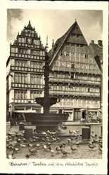 Tauben, Altstädter Markt