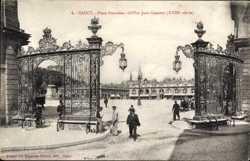 Place Stanislas, Grilles Jean Lamour