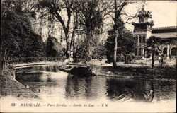 Parc Borely, Bords du Lac