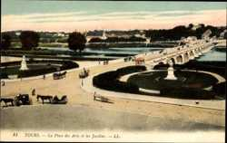 La Place des Arts, Les Jardins