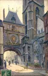Fontaine du Gros Horloge