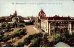 Place de Republique, Palais du Rhin
