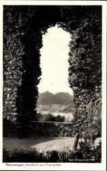 Durchblick zum Drachenfels
