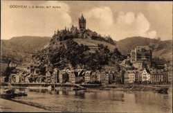 Mosel mit Burg
