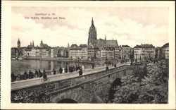 Mainkai, Alte Brücke, Dom