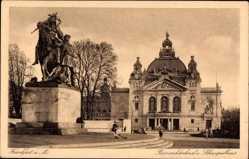 Bismarckdenkmal, Schauspielhaus
