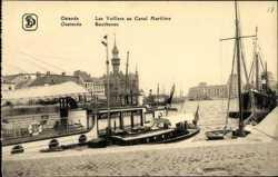 Les Voiliers au Canal Maritime