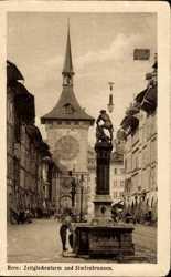 Zeitglockenturm, Simsonbrunnen