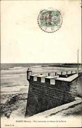 Fort marocain au dessus de la Barre