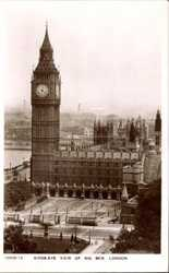 Birds Eye View of Big Ben