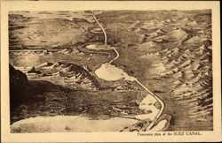 Panoramic Plan of the Canal