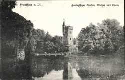 Zoologischer Garten, Weiher, Turm