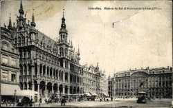 Maison du Roi et Maison de la Grand'Place