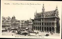Grand'Place, Maison du Roi, Marche aux Fleurs