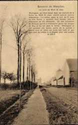 La route de Mont St. Jean
