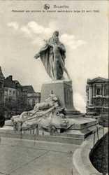 Monument aux victimes du premier navire ecole belge
