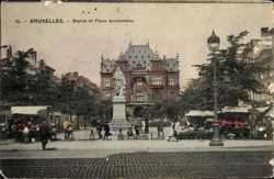 Statue et Place Anneessens