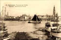 Panorama der Schelde