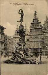 Statue de Brabo