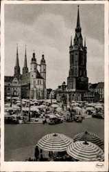 Markt, Stengel