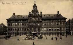 Hotel de Ville et Fontaine