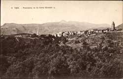 Panorama, vu du Camp Giardot